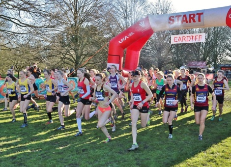 Cardiff Cross 2015 - Women's start