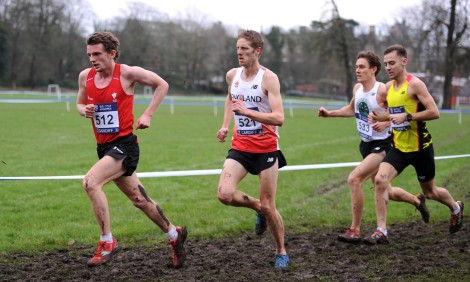 Dewi Griffiths leads - Cardiff Cross 2016