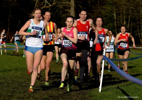 Cardiff Cross 2014 - Womens race